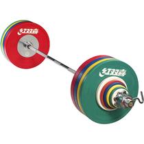 Штанга DHS Olympic 140 кг. для соревнований, аттестованная IWF