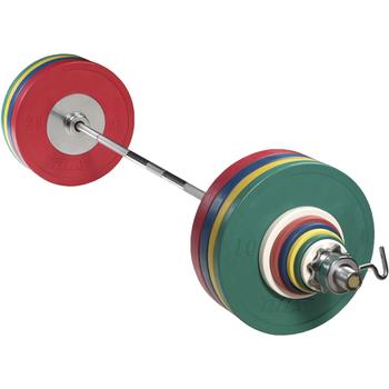 Штанга тренировочная DHS «VICTORY» Color 240 кг  - фото 1
