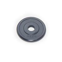 Диск JOHNS d26 мм черн. обрезиненный, 0,5кг (71019-0,5B/26)