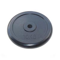 Диск JOHNS d26 мм черн. обрезиненный, 10кг (71019-10B/26)