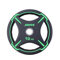 """Диск полиуретановый """"JOHNS"""" d51мм. 10 кг. (91030-10ВC)"""
