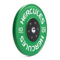 Диск тяжелоатлетический тренировочный «Hercules» NEW, 10 кг