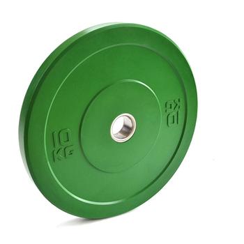 Диск «JOHNS» APOLO Bumper, d-51мм., цветной, цельно резиновый, 10 кг.  - фото 1