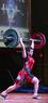 Штанга женская DHS Olympic 135 кг. для соревнований, аттестованная IWF   - фото 3