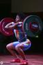 Штанга женская DHS Olympic 185 кг. для соревнований, аттестованная IWF   - фото 3