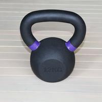 Гиря чугунная 12 кг. (с цветными метками) (HK105-12)