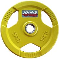 Диск JOHNS цветн. 3-х хват. обрезин. d51мм, 15кг (91010-15C)