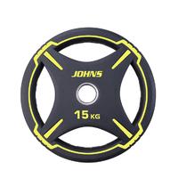 """Диск полиуретановый """"JOHNS"""" d51мм. 15 кг. (91030-15ВC)"""