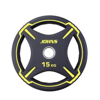 """Диск полиуретановый """"JOHNS"""" d51мм. 15 кг. (91030-15ВC) - фото 1"""