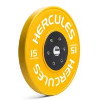 Диск тяжелоатлетический тренировочный «Hercules» NEW, 15 кг