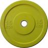 Диск «JOHNS» APOLO Bumper, d-51мм., цветной цельно резиновый, 15 кг.   - фото 2