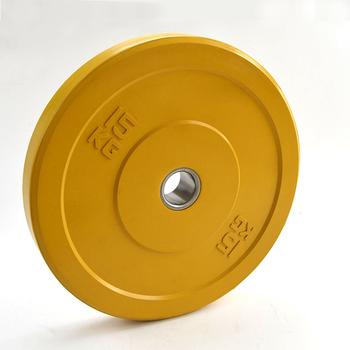 Диск «JOHNS» APOLO Bumper, d-51мм., цветной цельно резиновый, 15 кг.  - фото 1