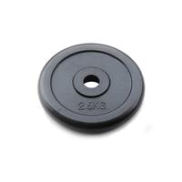 Диск JOHNS d26 мм черн. обрезиненный, 2,5кг (71019-2,5B/26)