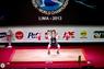 Помост тяжелоатлетический для соревнований DHS Olympic, (400х400х10см.) аттестованный IWF   - фото 4