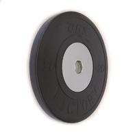 Диск тяжелоатлетический тренировочный DHS «VICTORY» 20 кг (черный)