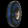Диск тяжелоатлетический тренировочный «Hercules» NEW, 20 кг. черно-синий   - фото 2