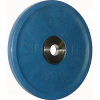 Диск BARBELL Евро-классик обрезиненный цветной, 20 кг.