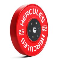 Диск тяжелоатлетический тренировочный «Hercules» NEW, 25 кг
