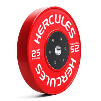 Диск тяжелоатлетический тренировочный «Hercules» NEW, 25 кг  - фото 1