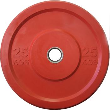 Диск APOLO Crossfit Bumper, цветной, 25 кг.  - фото 1