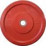 """Диск """"JOHNS"""" APOLO Bumper, d-51мм., цветной, цельно резиновый, 25 кг.   - фото 2"""