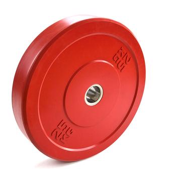 """Диск """"JOHNS"""" APOLO Bumper, d-51мм., цветной, цельно резиновый, 25 кг.  - фото 1"""