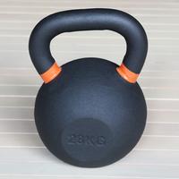 Гиря чугунная 28 кг. (с цветными метками) (HK105-28)