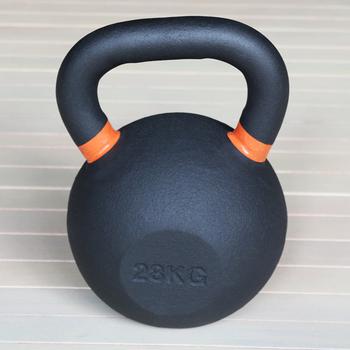 Гиря чугунная 28 кг. (с цветными метками) (HK105-28) - фото 1