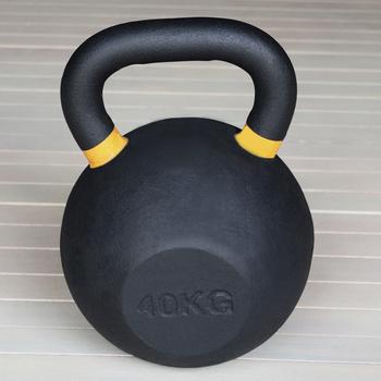 Гиря чугунная 40 кг. (с цветными метками) (HK105-40) - фото 1