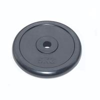 Диск JOHNS d26 мм черный обрезиненный, 5кг (71019-5B/26)