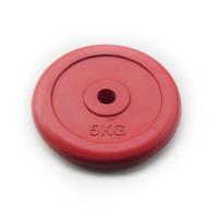 Диск JOHNS d26 мм цветной обрезиненный, 5кг (71019-5C/26)