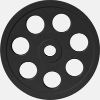 Диск JOHNS обрезиненный 15кг., d51мм., черный (71023-15В)
