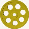 Диск JOHNS обрезиненный 15кг., d51мм., цветной  (71023-15С) - фото 2