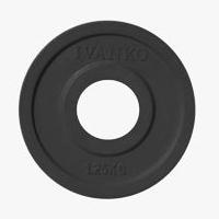 Диск JOHNS обрезиненный 1,25кг., d51мм., черный (71023-1,25В) - фото 1