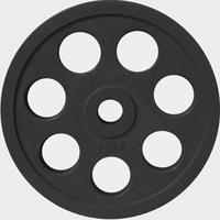 Диск JOHNS обрезиненный 25кг., d51мм., черный (71023-25В)