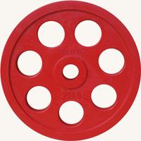 Диск JOHNS обрезиненный 25кг., d51мм., цветной (71023-25С)