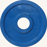 Диск JOHNS обрезиненный 2,5кг., d51мм., цветной  (71023-2,5С) - фото 2