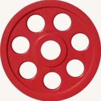 Диск JOHNS обрезиненный 5кг., d51мм., цветной (71023-5С)
