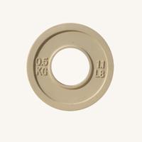 Диск JOHNS d51мм, цветной обрезиненный, 0,5кг (71025-0,5)