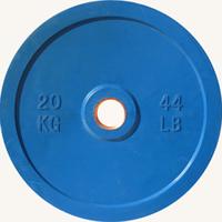 Диск JOHNS d51мм, цветной обрезиненный, 20кг (71025-20)