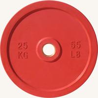 Диск JOHNS d51мм, цветной обрезиненный, 25кг (71025-25)