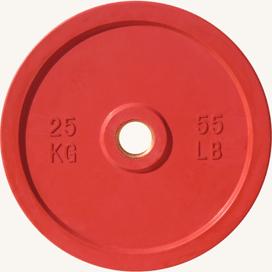 Диск JOHNS d51мм, цветной обрезиненный, 25кг (71025-25) - фото 1
