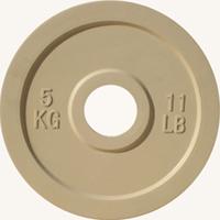 Диск JOHNS d51мм, цветной обрезиненный, 5кг (71025-5)