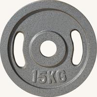 Диск JOHNS металлический, d51мм. 15 кг., серый (71027)