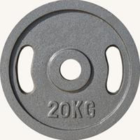 Диск JOHNS металлический, d51мм. 20 кг., серый (71027)