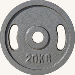 Диск JOHNS металлический, d51мм. 20 кг., серый (71027) - фото 1