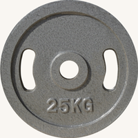 Диск JOHNS металлический, d51мм. 25 кг., серый (71027)