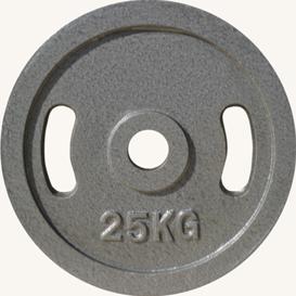 Диск JOHNS металлический, d51мм. 25 кг., серый (71027) - фото 1