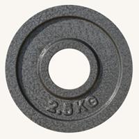 Диск JOHNS металлический, d51мм. 2,5кг., серый (71027) - фото 1