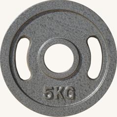 Диск JOHNS металлический, d51мм.  5 кг., серый (71027) - фото 1